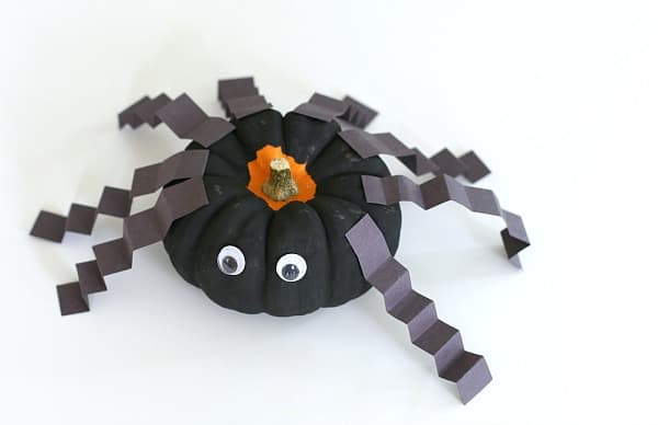 Spider Craft For Kids Using Mini Pumpkins Buggy And Buddy