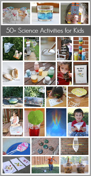 Over 50 Science Activities for Kids~ BuggyandBuddy.com