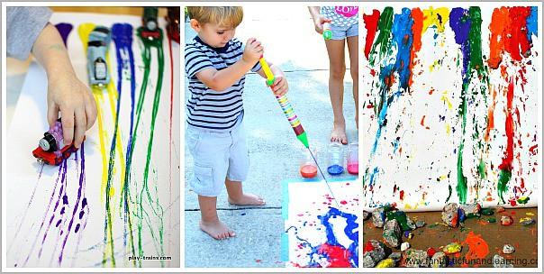 art for playdates
