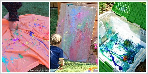 collaborative art for playdates