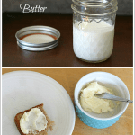 Great Thanksgiving or holiday activity for kids! (How to Make Butter Using a Jar)~ BuggyandBuddy.com