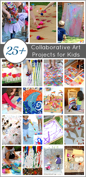 Collaborative Classroom Projects ~ Collaborative art projects for kids buggy and buddy