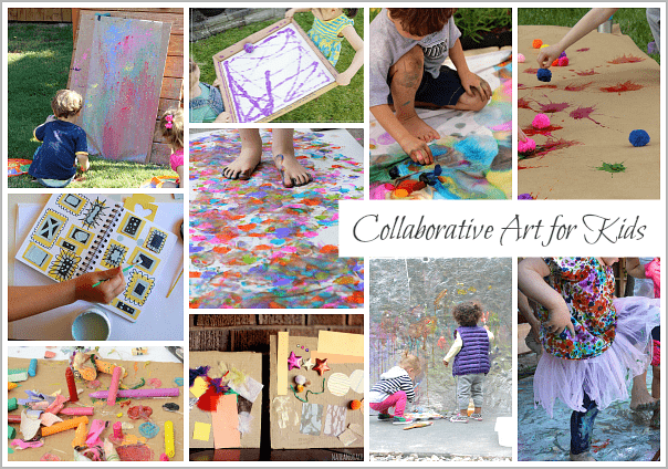 25+ Collaborative Art Projects for Kids (Perfect for classrooms, playdates, and family time!)