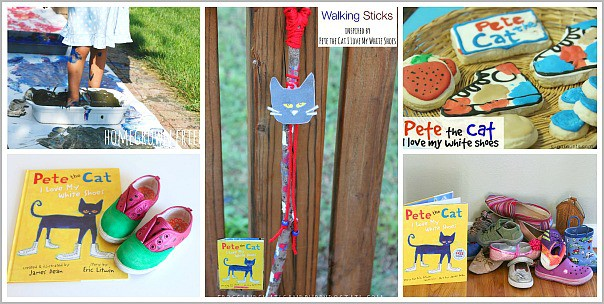 Activities for Kids Based on Pete the Cat I Love My White Shoes