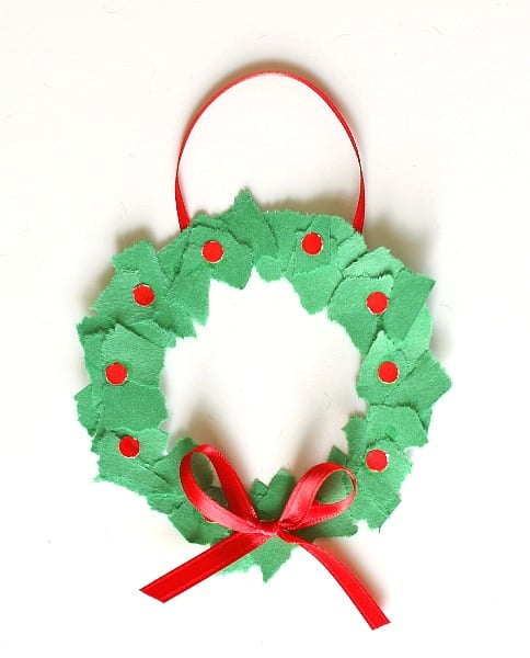 christmas arts and crafts ideas for kindergarten ornaments tear wreaths 8000