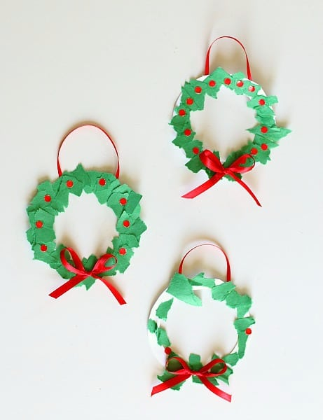 Christmas Tree Hat Craft