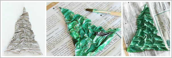 paint the homemade christmas ornament