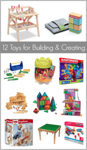 Gift Ideas for Kids: 12 Cool Building Toys~ BuggyandBuddy.com