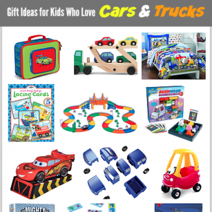 15 Gift Ideas for Kids Who Love Cars and Trucks