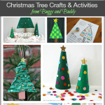 Over 10 Christmas Tree Crafts and Activities for Kids~ from BuggyandBuddy.com