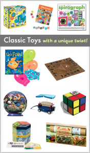 Gift Ideas for Kids: 10 Classic Toys with a Unique Twist