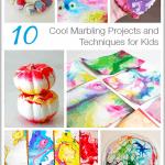 Cool Marbling Techniques and Projects for Kids