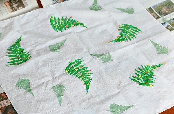 DIY Fabric Giftwrap
