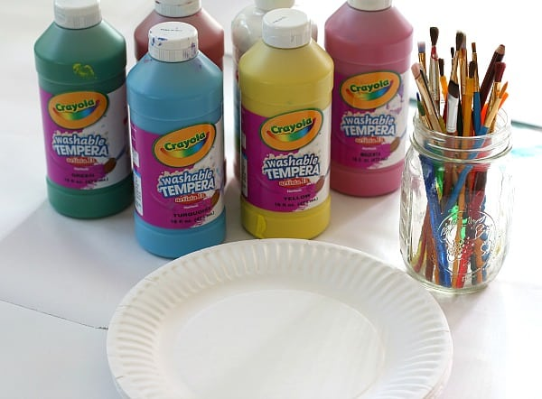 materials for mixing colors using paint