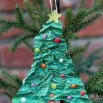 Homemade Christmas Ornaments: Paper Mache Christmas Trees