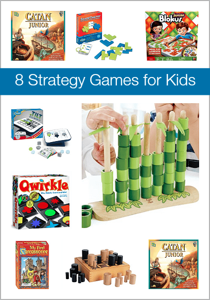 Holiday Gift Guide: 8 Strategy Games for Kids~ BuggyandBuddy.com