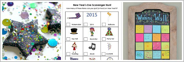 New Years Eve Activities for Kids
