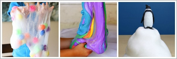 how to make rainbow slime with liquid starch
