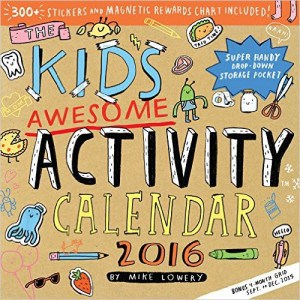 Kids Awesome Activity Calendar 2016