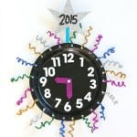 New Year's Eve with Kids: Countdown Clock Craft