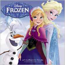 disney frozen wall calendar 2016