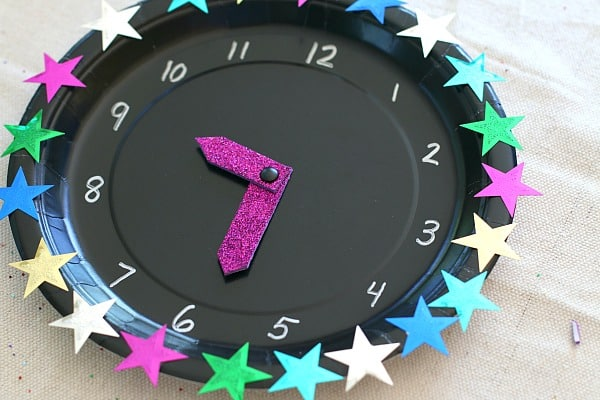 New Year's Eve with Kids: Countdown Clock Craft Using ...
