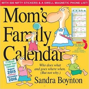 mom's family calendar