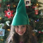 Perfect beginning sewing project for kids! (Felt Elf Hat~ BuggyandBuddy.com)