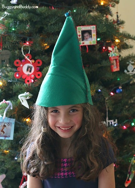 f785204449d DIY Felt Elf Hat Sewing Project for Kids - Buggy and Buddy
