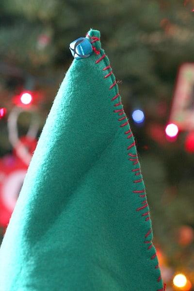Sewing Project for Kids: DIY Felt Elf Hat