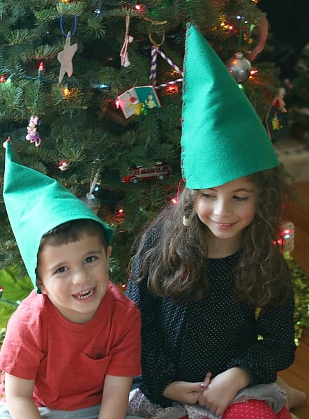 diy felt elf hats