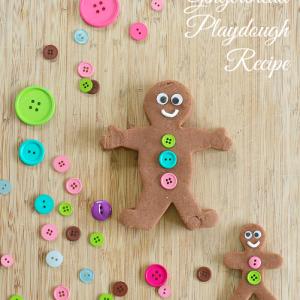 Gingerbread Playdough Recipe