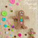 Perfect for Christmas and winter sensory play! (Gingerbread Playdough Recipe~ BuggyandBuddy.com)