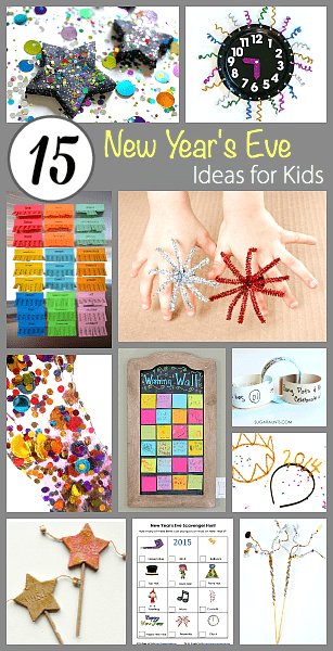 15 New Year S Eve Crafts And Activities For Kids Buggy And Buddy