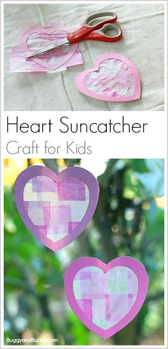 Valentine Day Craft For Preschool Sunday School