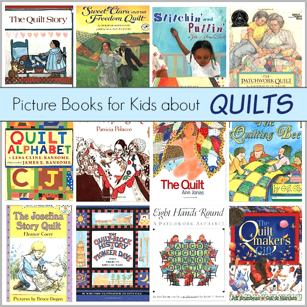 Children's Book List: Picture Books about Quilts~ BuggyandBuddy@gmail.com