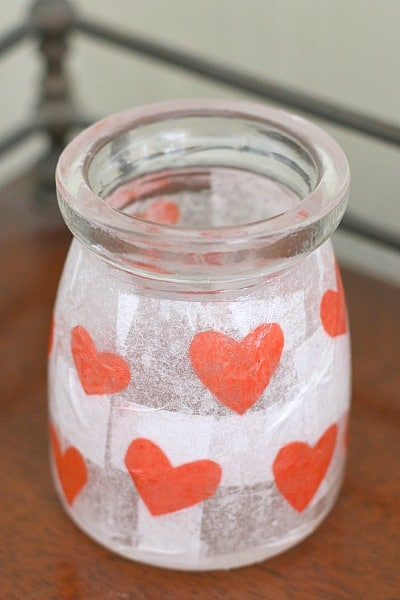 Perfect for Valentine's Day! (Heart Votive Craft for Kids)~ BuggyandBuddy.com