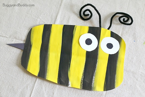 Simple Bumble Bee Art Project For Kids Buggy And Buddy