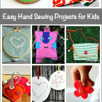 12 Easy Hand Sewing Projects for Kids
