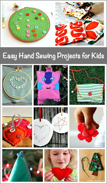 Easy Hand Sewing Projects for Kids - Buggy and Buddy