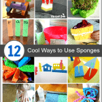 12 Cool Sponge Crafts and Activities for Kids