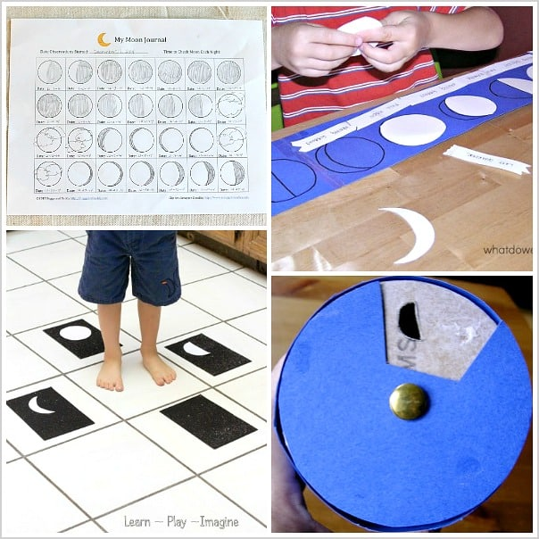 Astronomy for Kids: Moon Crafts and Activities - Buggy and