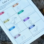 Printable Scavenger Hunt for Kids: Go on a Color Walk
