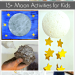 Astronomy for Kids: Moon Crafts and Activities