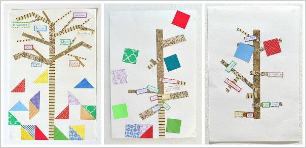 The Keeping Quilt: Family Tree Craft for Kids