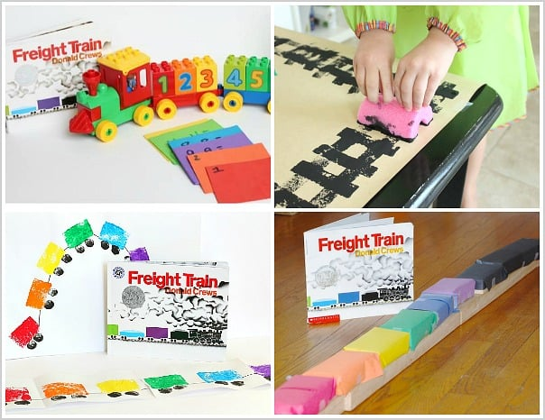 Freight Train Activities for Kids