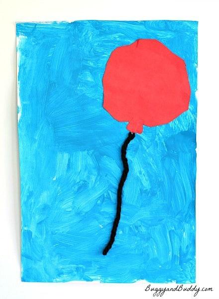 Preschool Art Activity Inspired by Margaret Wise Brown's Goodnight Moon
