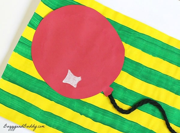 Preschool Art Activity Inspired by Margaret Wise Brown's Goodnight Moon