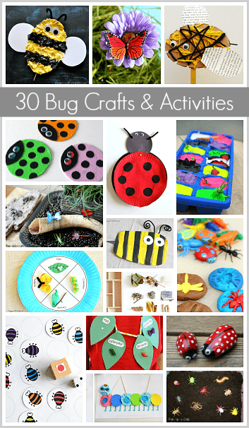 30 Bug Crafts And Activities For Kids Buggy And Buddy