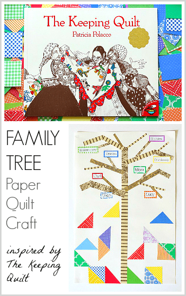 The Keeping Quilt: Family Tree Craft for Kids~ BuggyandBuddy